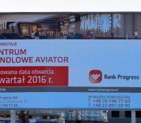Galeria Aviator, która powstaje na Smoczce rośnie w oczach.[ZDIĘCIA]