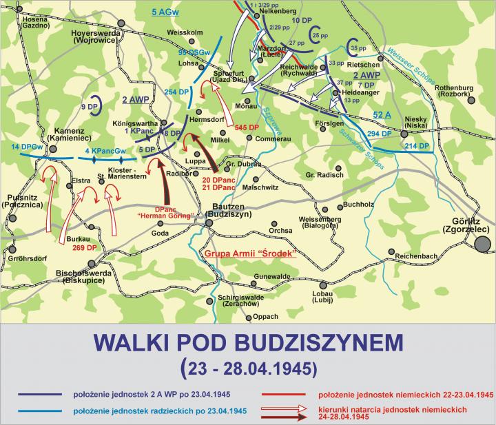 Budziszyn 1945 – zapomniana bitwa z udziałem mielczan