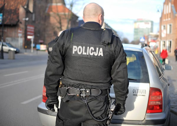 Gdansk Policjant na sluzbie Marcin Gadomski/wp.pl
