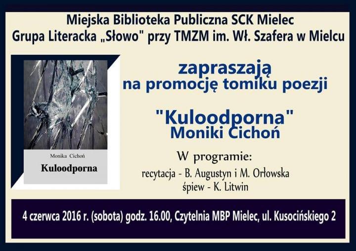 ",,Kuloodporna"" – Monika Cichoń"