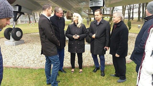 Wizyta znanej amerykańskiej dziennikarki w Starostwie Powiatowym