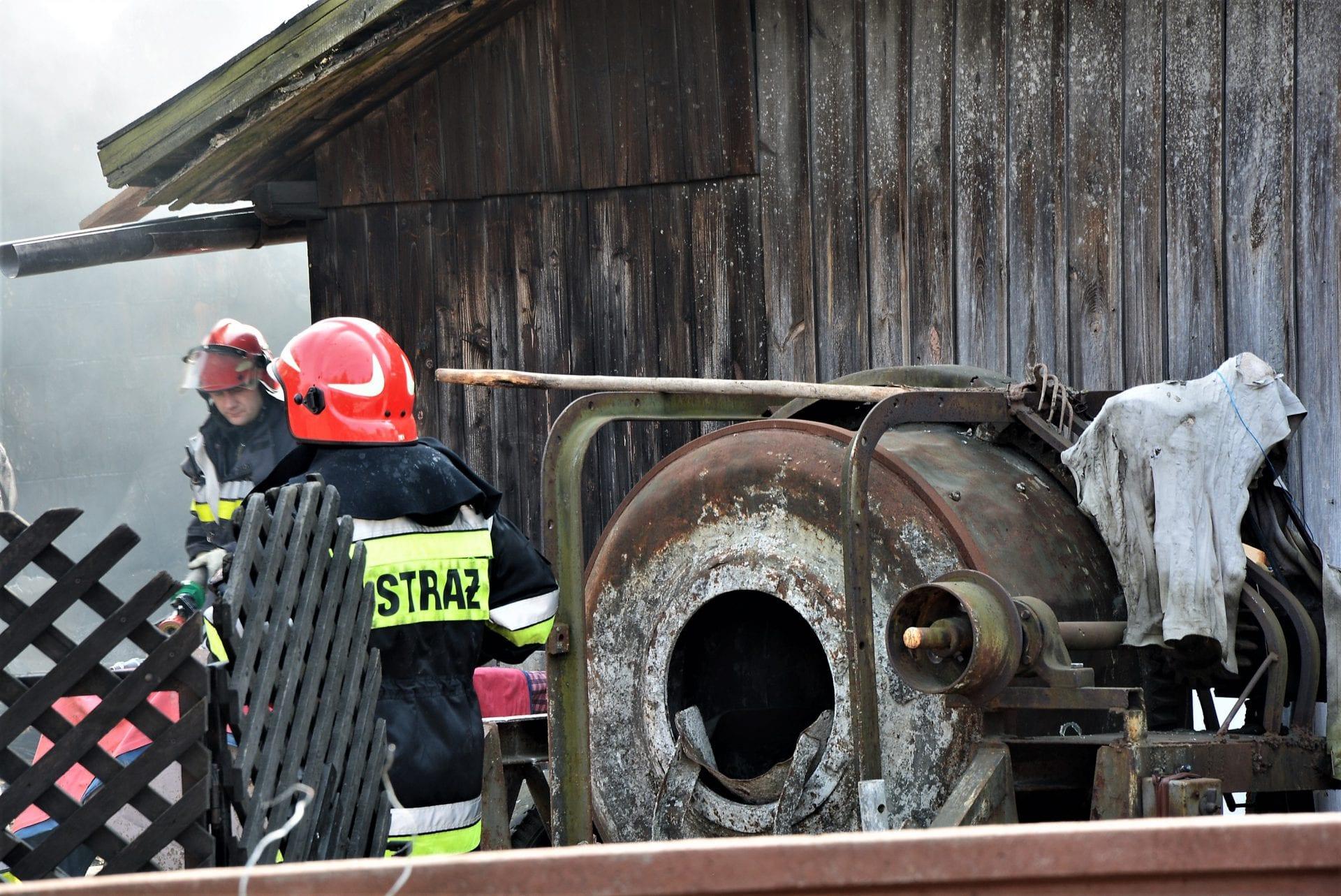Pożar na Sienkiewicza [FOTO, VIDEO]