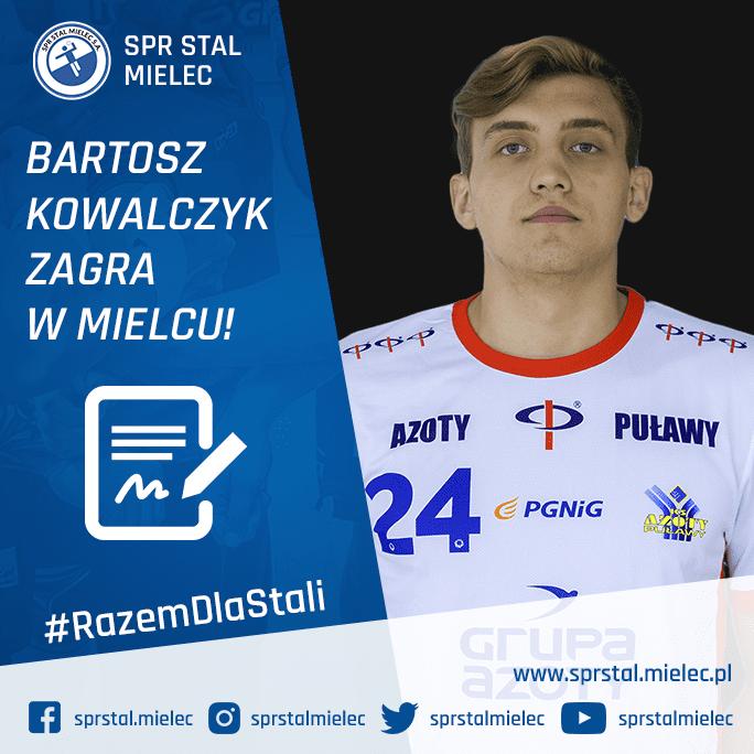 Bartosz Kowalczyk – z Puław do Mielca!