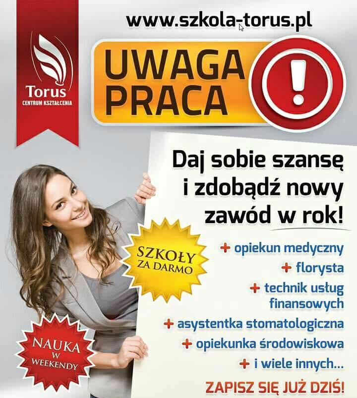 Centrum Kształcenia Torus w Mielcu poszukuje wykładowców