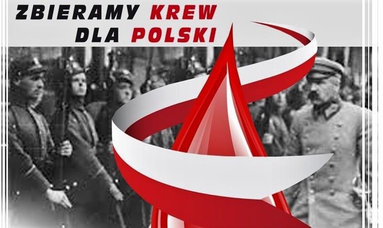 Młodzież z ZSB zbiera krew dla Polski