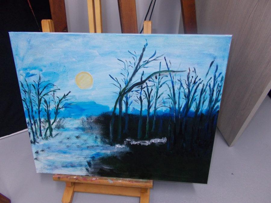 SDK – Malowanie,, nokturnów,, na warsztatach malarskich…[FOTO]
