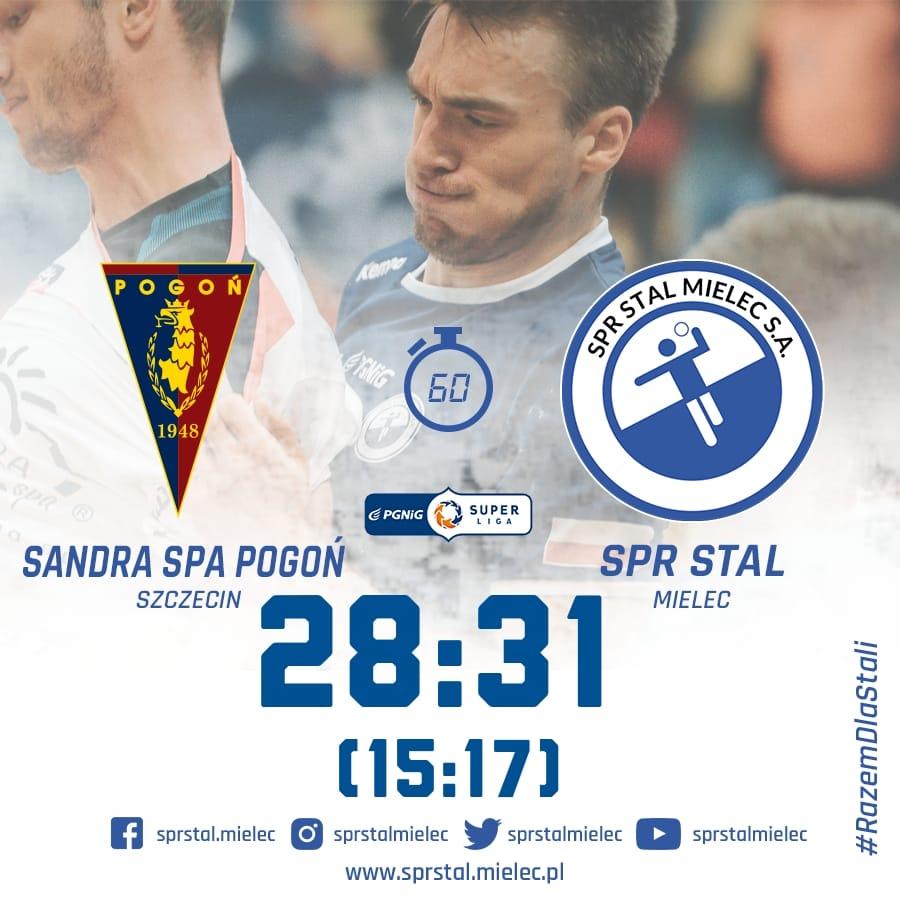 Stal triumfuje w Szczecinie!