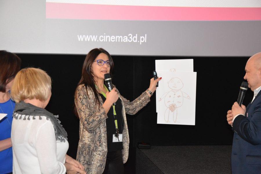 Kino na Szpilkach w Cinema3D w Galerii Navigator [FOTO, VIDEO]