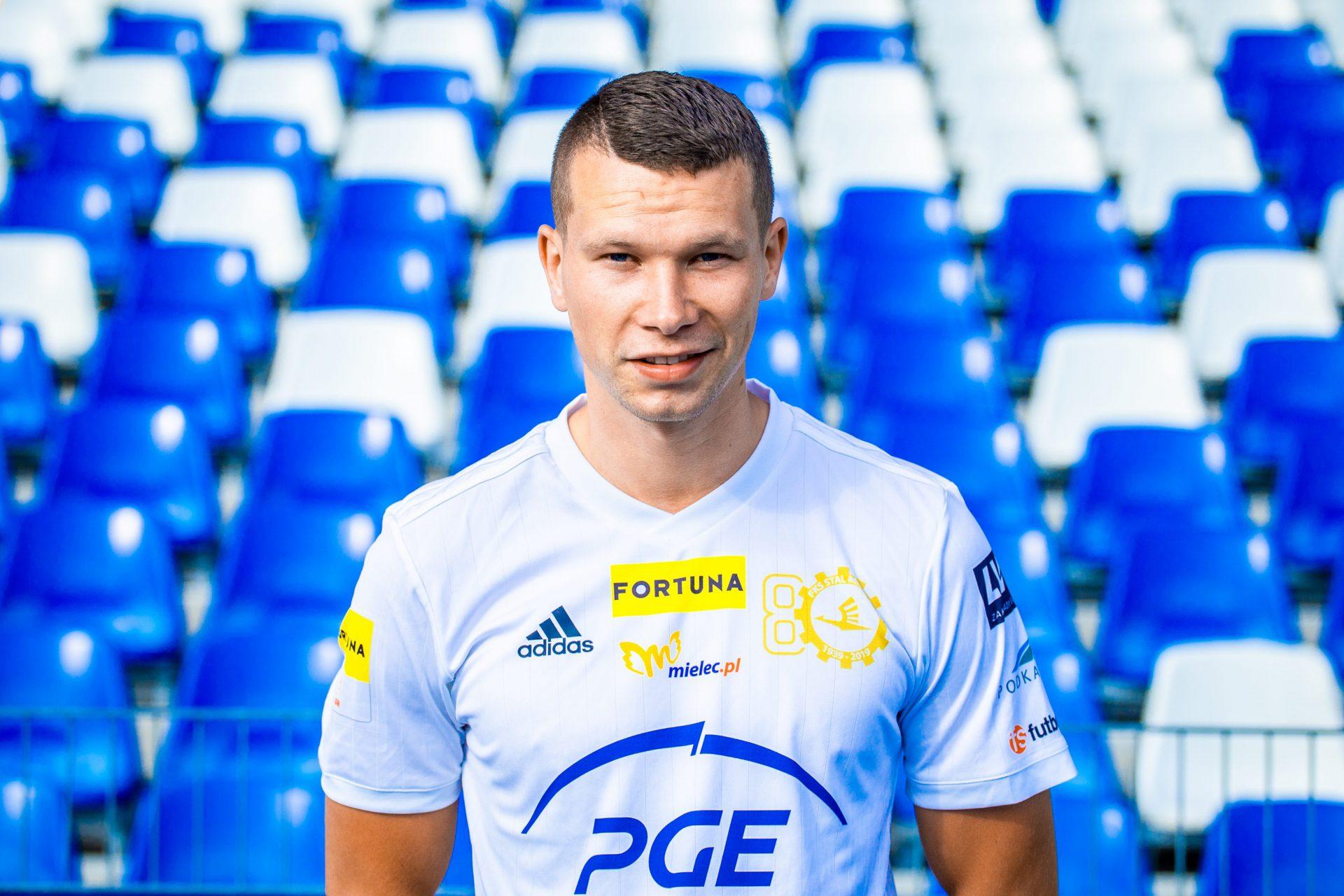 Mateusz Mak piłkarzem PGE FKS Stal Mielec